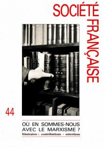 société francaise 44 1992